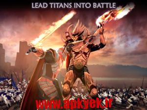 دانلود بازی سحر تیتان Dawn of Titans v1.3.1 اندروید