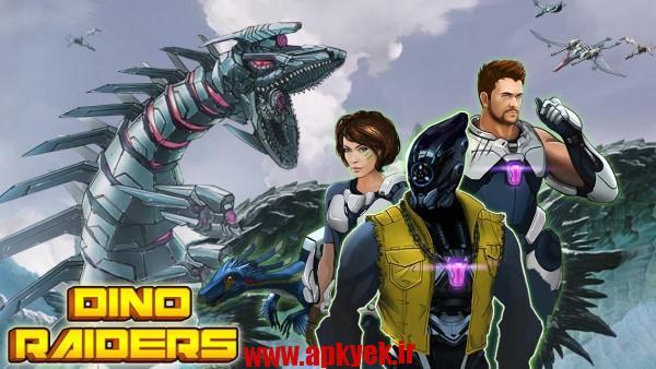 دانلود بازی اظهارات دینو Dino-Raiders: Jurassic Crisis 1.5 اندروید