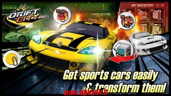 دانلود بازی رانش در شهر Drift City Mobile 0.0.7489 اندروید