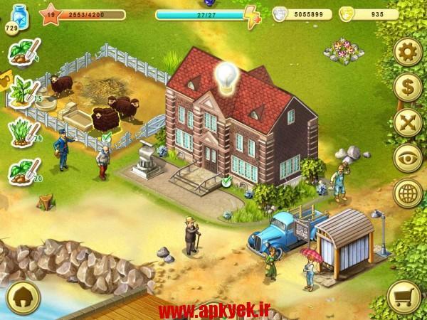 دانلود بازی تا مزرعه Farm Up 5.5 اندروید مود شده