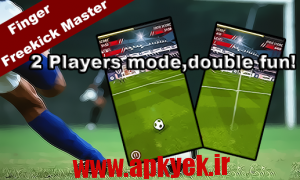 دانلود بازی ضربه آزاد Finger Free Kick Master v1.0 اندروید
