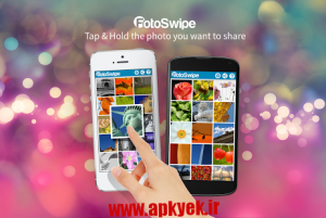 دانلود نرمافزار فوتو FotoSwipe - Photos &Videos v1.8.1 اندروید