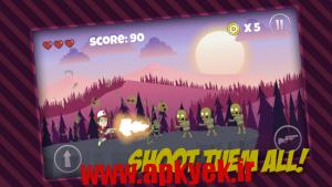 دانلود بازی تفنگ زامبی Gun Zombie Jump v1.0 اندروید