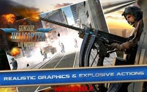 دانلود بازی هلیکوپتر های جنگی Gunship Helicopter: Air Battle 1.0 اندروید مود شده