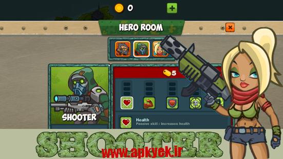 دانلود بازی مدافع آخر Heroes: Last Defender Pro v1.1 اندروید مود شده