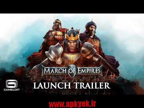 دانلود بازی استراتژیک March of Empires 1.1.1g اندروید