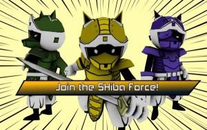 دانلود بازی شیبا Mighty Swiping Shiba Force 1.4 اندروید پول بی نهایت