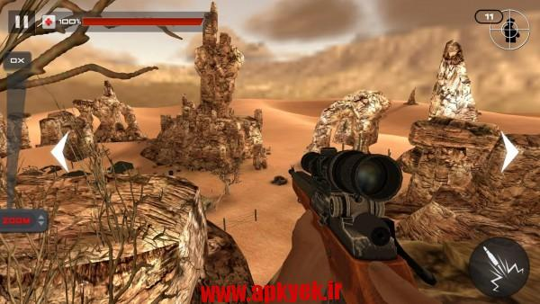 دانلود بازی تیراندازی در کوه Mountain Sniper Shooting 3D 3.2 اندروید