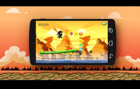 دانلود بازی پرش اژدها نینجا Ninja Dragon Jump v2.0 اندروید