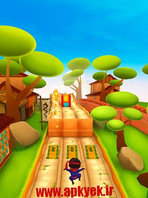دانلود بازی بچه نینجا Ninja Kid Run Free – Fun Games v1.2.9 اندروید مود شده