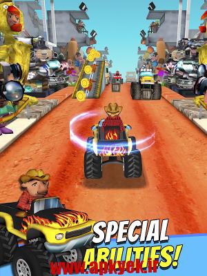 دانلود بازی ماشین هیولا Off Road ATV Monster Trucks 3D v1.5.0 اندروید