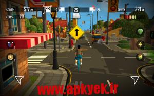دانلود بازی کنترل دوچرخه PaperBoy:Infinite bicycle ride v1.0 اندروید