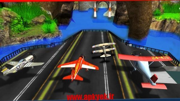 دانلود بازی مسابقه هواپیمایی Race The Planes 1.0 اندروید