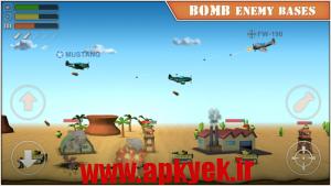 دانلود بازی اسکای Sky Aces 2 v1.01 اندروید مود شده