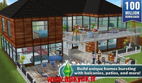 دانلود بازی سیمز The Sims™ FreePlay 5.16.0 اندروید