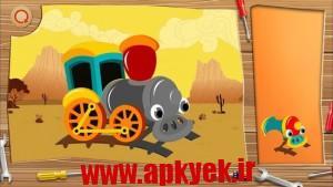 دانلود بازی قطار اسباب بازی Toy Train Puzzles v1.0.4 اندروید