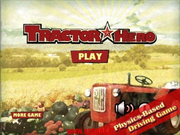 دانلود بازی تراکتور Tractor Hero 1.02 اندروید