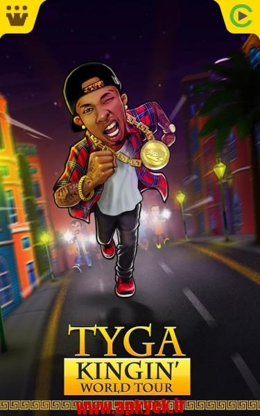 دانلود بازی تور جهانی Tyga – Kingin' World Tour 1.3 اندروید مود شده