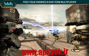 دانلود بازی ربات های جنگی Walking War Robots v0.9.1 اندروید