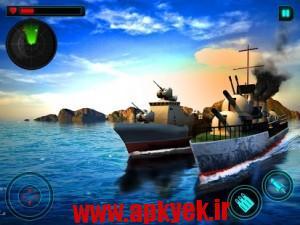 دانلود بازی جنگ جهانی نیروی دریایی World War Naval Battle 3D v1.0 اندروید