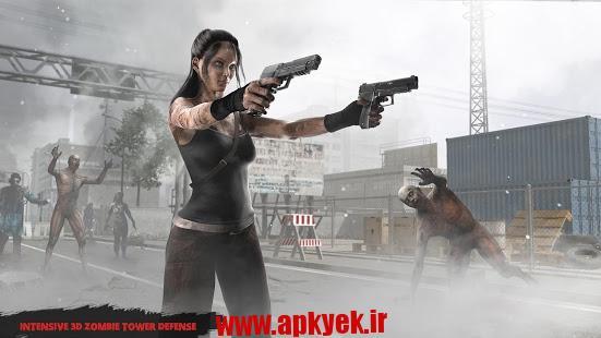 دانلود بازی زامبی آدرنالین Zombie Defense: Adrenaline v2.11 اندروید