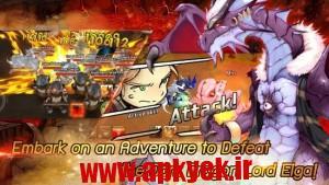 دانلود بازی سفر اژدها LINE Dragonica Mobile v1.1.11 اندروید مود شده