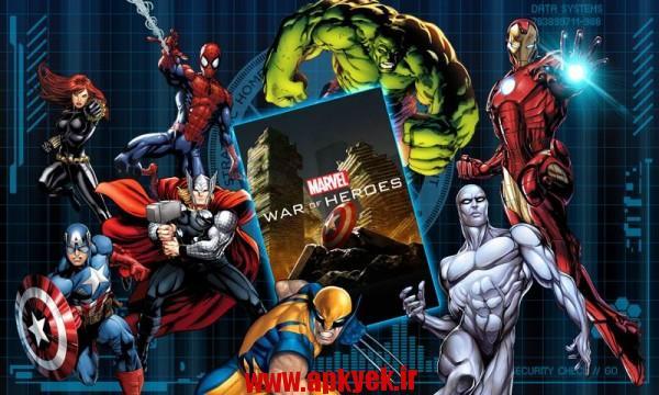 دانلود بازی مارول قهرمان MARVEL War of Heroes 1.5.14 اندروید