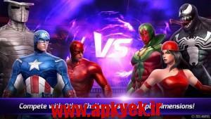 دانلود بازی مبارزه آیندگان MARVEL Future Fight v1.3.1 اندروید