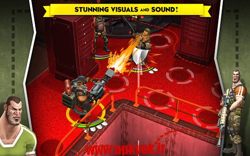 دانلود بازی تاکتیک AntiSquad Tactics Premium 2.04 اندروید مود شده