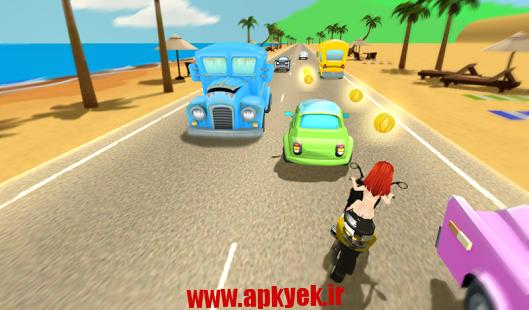 دانلود بازی مسابقه ساحلی موتور Beach Moto Racing 1.0 اندروید