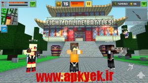 دانلود بازی جنگ در شهر پیکسلی Block City Wars 4.0.1 اندروید