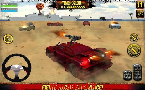 دانلود بازی مسابقه مرگ Death Race: Beach Racing Cars 1.3 اندروید