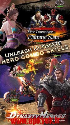 دانلود بازی قهرمانان سلسله ای Dynasty Heroes: The Legend 1.6 اندروید