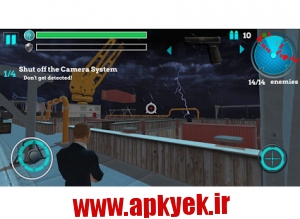 دانلود بازی جاسوسان نخبگان Elite Spy: Assassin Mission v1.7 اندروید