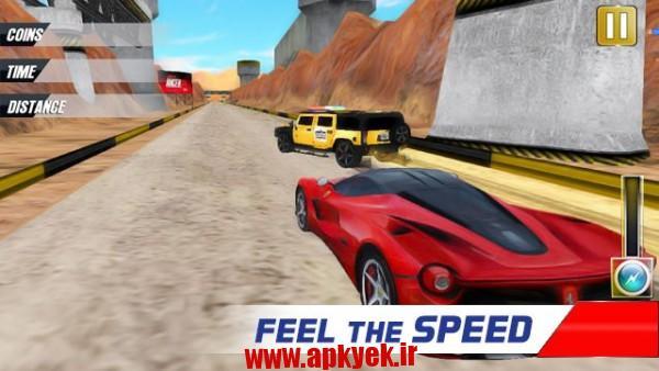 دانلود بازی اتومبیل رانی شدید Extreme Police Car Racer 1.2 اندروید