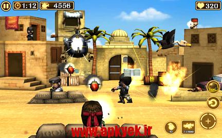 دانلود بازی اعتصاب دو Gun Strike 2 1.1.9 اندروید