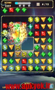 دانلود بازی پازلی جواهرات Jewels Star 3 1.5 اندروید