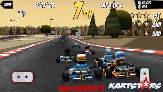 دانلود بازی کسب ستاره Kart Stars v1.6.2 اندروید مود شده