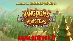 دانلود بازی هیولا امپراطور Kingdoms & Monsters 1.1.92 اندروید