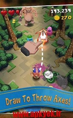 دانلود بازی تبر Max Axe – Epic Adventure! 1.6.4 اندروید