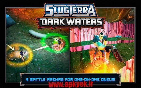 دانلود بازی دنیای تاریک واترز Slugterra: Dark Waters 1.0.5 اندروید