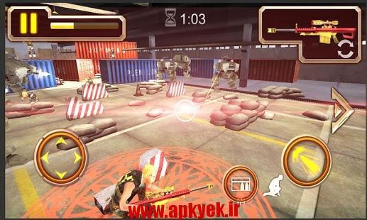 دانلود بازی تیراندازی سه بعدی Sniper Rush 3D 1.1 اندروید