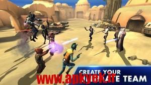 دانلود بازی کهکشان قهرمانان Star Wars: Galaxy of Heroes 0.0.102917 اندروید