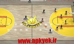 دانلود بازی بسکتبال استیک من Stickman Basketball 1.3 اندروید