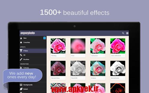 دانلود نرمافزار ویرایش عکس SuperPhoto Full 1.83 اندروید
