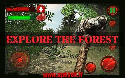 دانلود بازی شکار در جنگل The Forest Survival 3D 1.0 اندروید