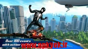 دانلود بازی مرد عنکبوتی دو The Amazing Spider-Man 2 v1.2.2f اندروید