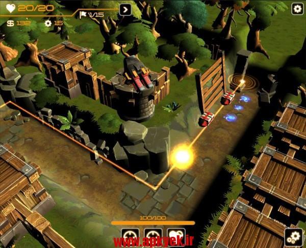 دانلود بازی برج ربات ها Tower Robotic Defense 1.201 اندروید مود شده