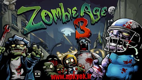 دانلود بازی سن زامبی سه Zombie Age 3 1.1.0 اندروید