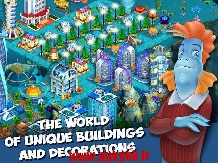 دانلود بازی ساخت کلان شهر Aquapolis-Build a megapolis! 1.13.40 اندروید
